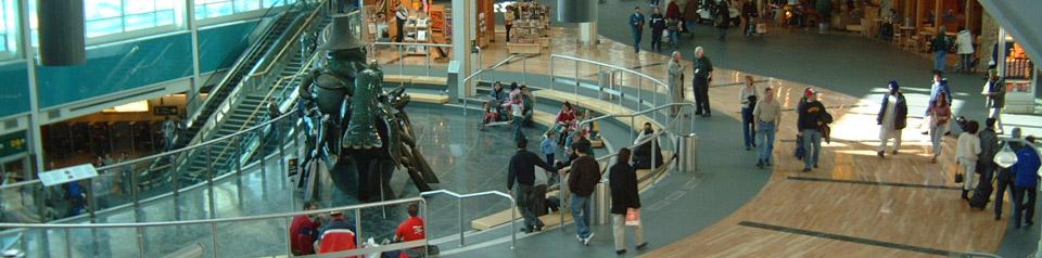Vancouver Airport Foyer Floor