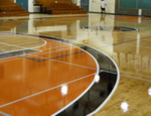 See us in action: The Stages of a Gym Refinishing Project