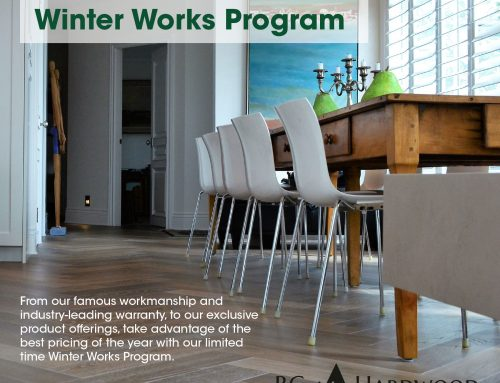 2019/2020 BC Hardwood Winter Works Program