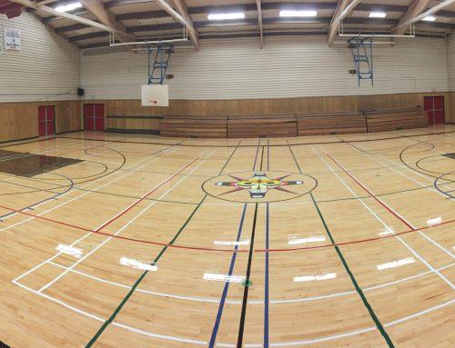 Maaqtusiis gymnasium- Ahousaht BC