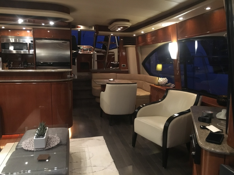 Private yacht, Vancouver BC
